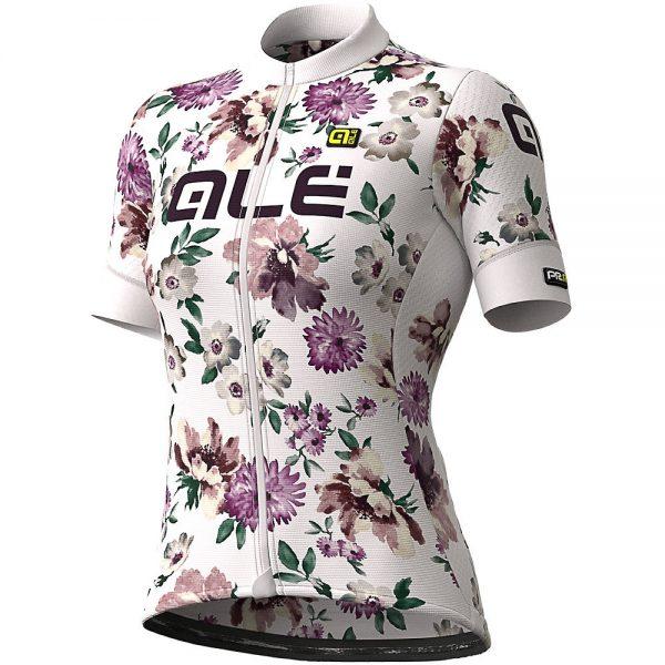 Alé Women's Graphics PRR Fiori Jersey - L - White, White