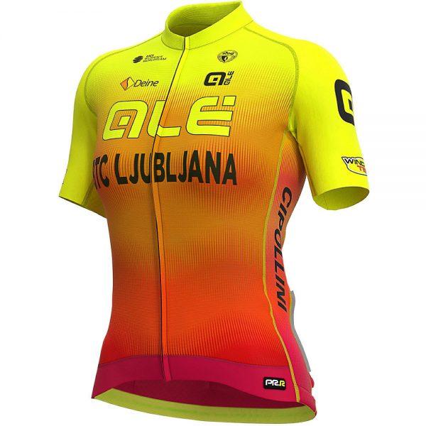 Alé Women's BTC Ljubliana 2020 PRR Jersey - XL - Yellow- Black-Red, Yellow- Black-Red