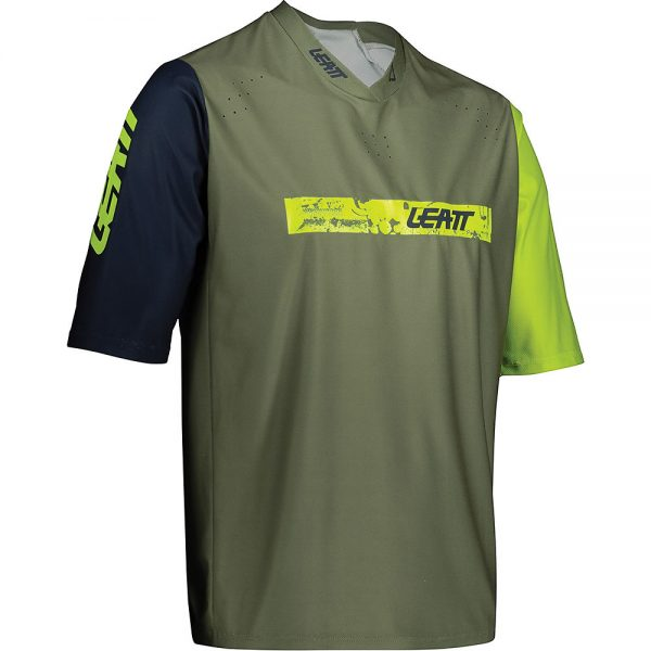 Leatt MTB 3.0 Jersey 2021 - XL - Cactus, Cactus