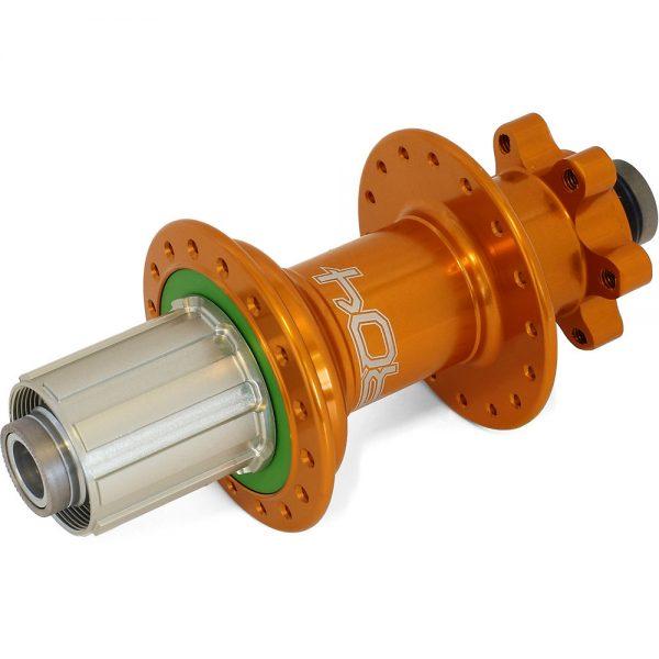 Hope Pro 4 MTB Rear Hub - 150mm x 12mm Axle - 32h - 150mm x 12mm Axle - Orange, Orange