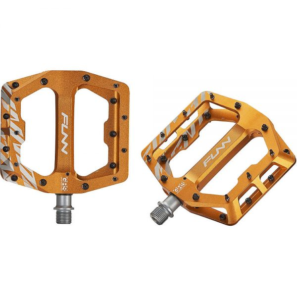 Funn Funndamental MTB Pedals - Orange, Orange