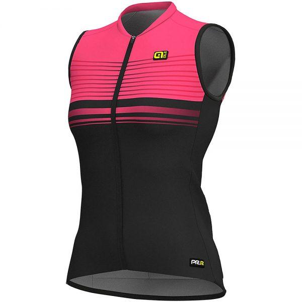 Alé Women's Graphics PRR SM Slide Jersey - L - BLACK-PINK, BLACK-PINK