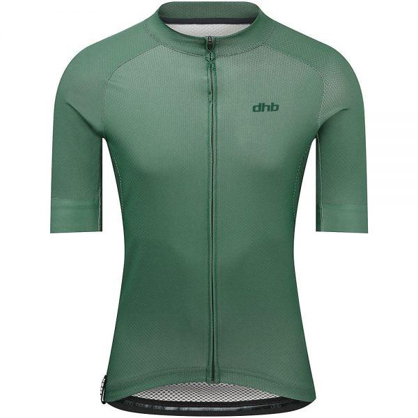 dhb Aeron Short Sleeve Jersey - XS - Green, Green