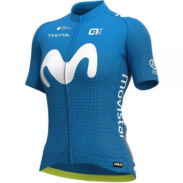 Alé Women's Movistar 2020 PRR Jersey - XL - Light Blue, Light Blue