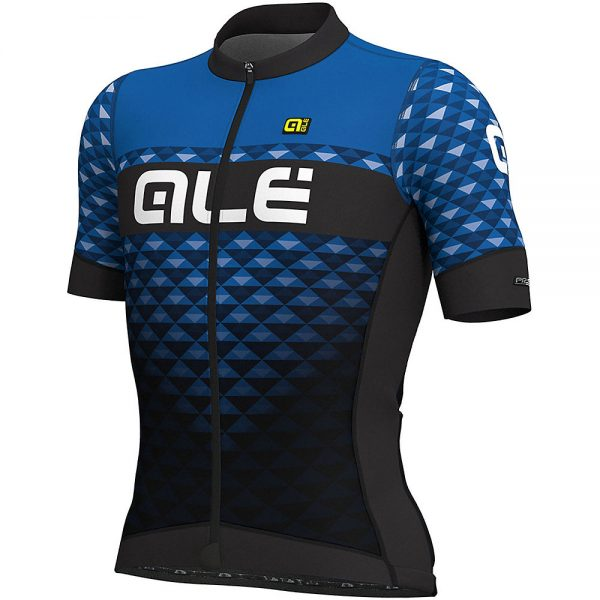 Alé PRS MC Hexa Jersey - XS - Blue-Black, Blue-Black
