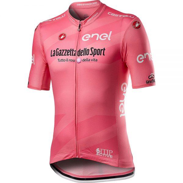 Castelli Giro103 Competizione Jersey - XXXL - Rosa Giro, Rosa Giro