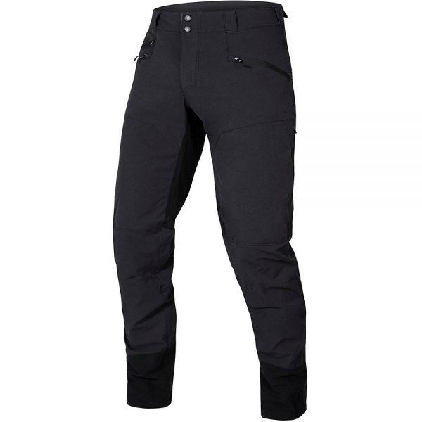 Endura SingleTrack MTB Trousers II 2020 - S - Black, Black