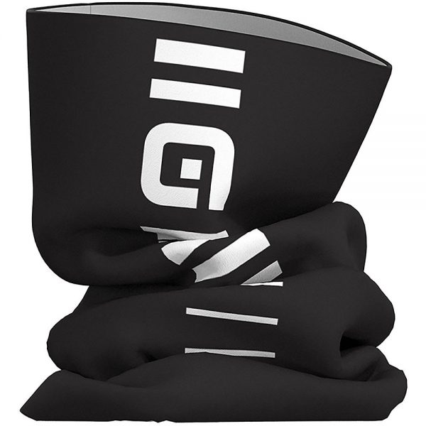 Alé Identity Tubular Headgear - One Size - Black-White, Black-White
