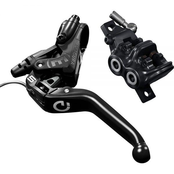 Magura MT5e HIGO-Opener MTB Disc Brake - Left or Right Hand - Black, Black