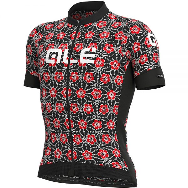 Alé PRS Garda Jersey - L - BLACK-RED, BLACK-RED