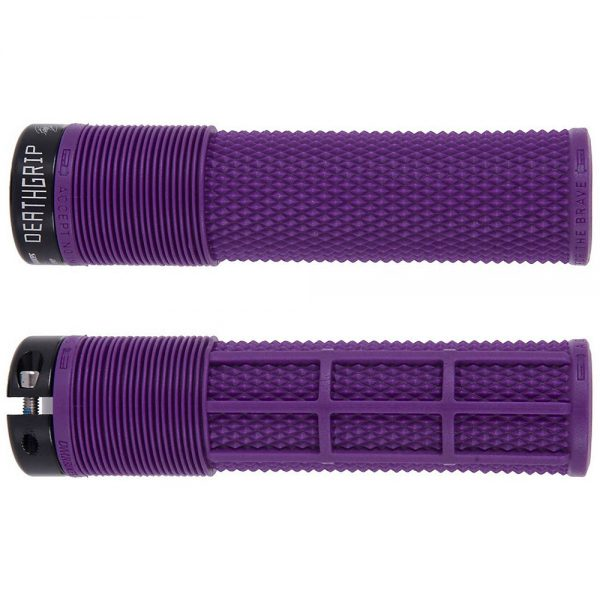 DMR Brendog Death Grip MTB Grips - 135mm - Purple, Purple