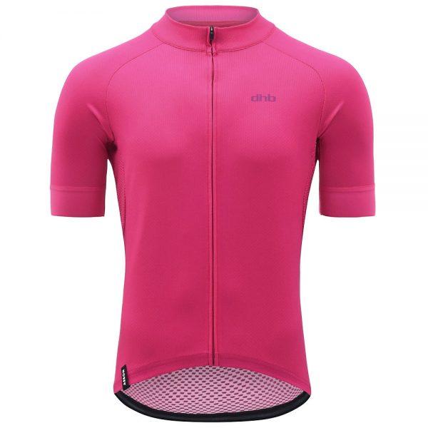 dhb Aeron Short Sleeve Jersey - XS - Pink, Pink