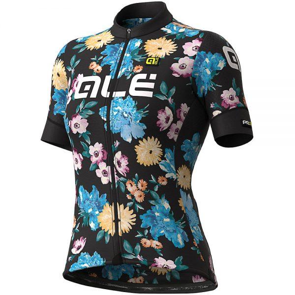 Alé Women's Graphics PRR Fiori Jersey - L - Black-Multi, Black-Multi
