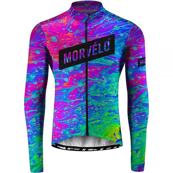Morvelo Retch Long Sleeve Jersey - XL - Tie Dye, Tie Dye
