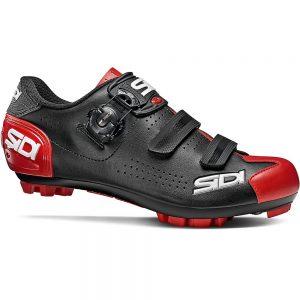 Sidi Trace 2 MTB Shoes - EU 40 - BLACK-RED, BLACK-RED