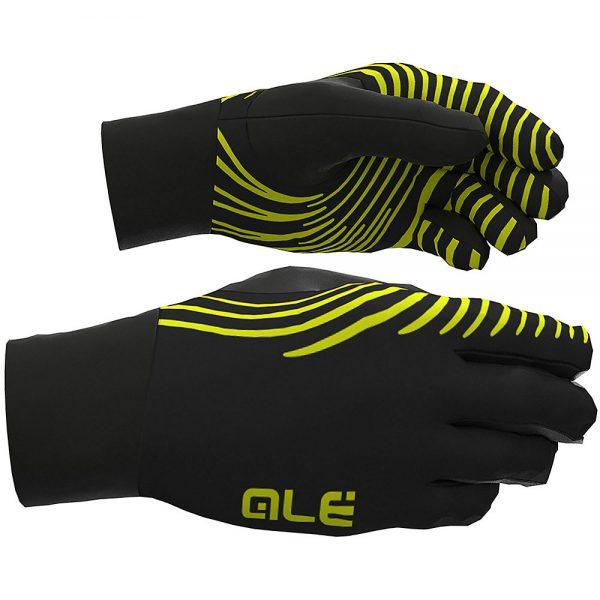 Alé Spirale Underglove - XS - Black-Fluro Yellow, Black-Fluro Yellow