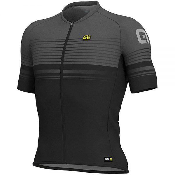Alé Graphics PRR MC Slide Jersey - L - Black-Grey, Black-Grey