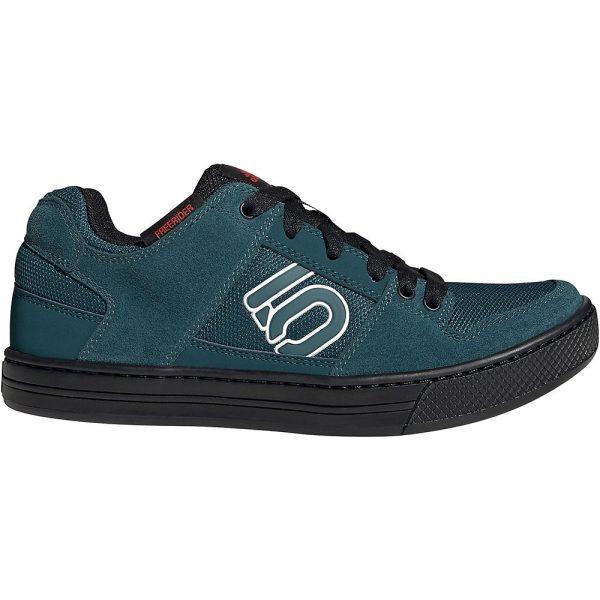 Five Ten Freerider MTB Shoes 2021 - UK 12.5 - Red-Teal-Black, Red-Teal-Black