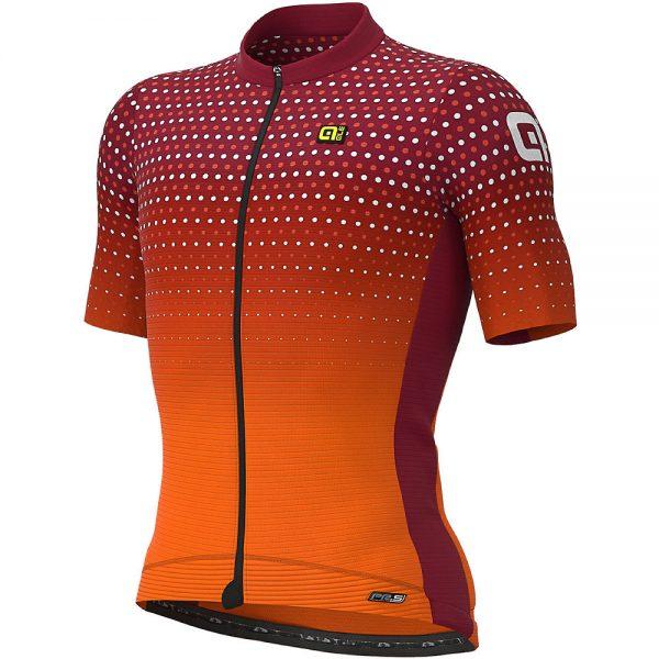 Alé PRS Bullet Jersey - S - Masai Red - Fluro Orange, Masai Red - Fluro Orange