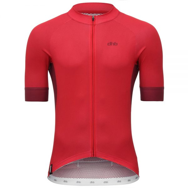 dhb Aeron Short Sleeve Jersey - XXXL - Red, Red