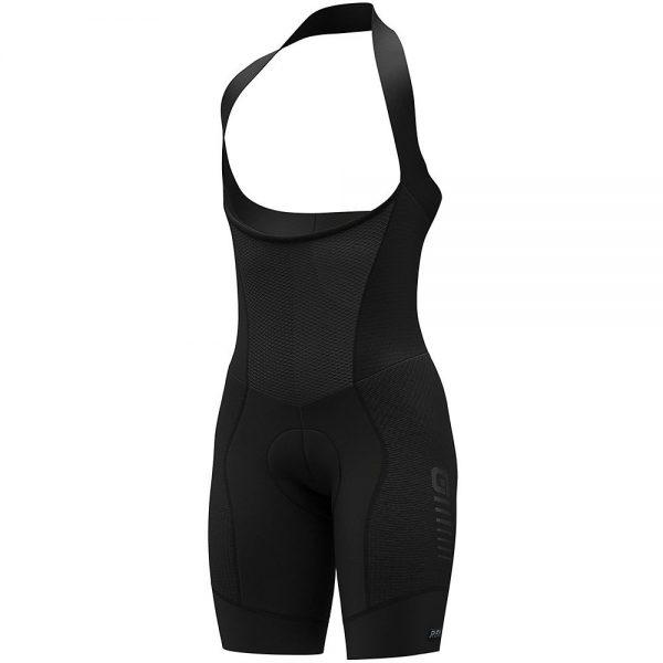 Alé Women's R-EV1 Future Plus Bib Shorts - L - Black, Black