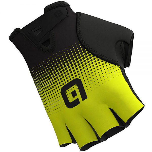 Alé Guanti Dots Gloves - XS - Black-Fluro Yellow, Black-Fluro Yellow