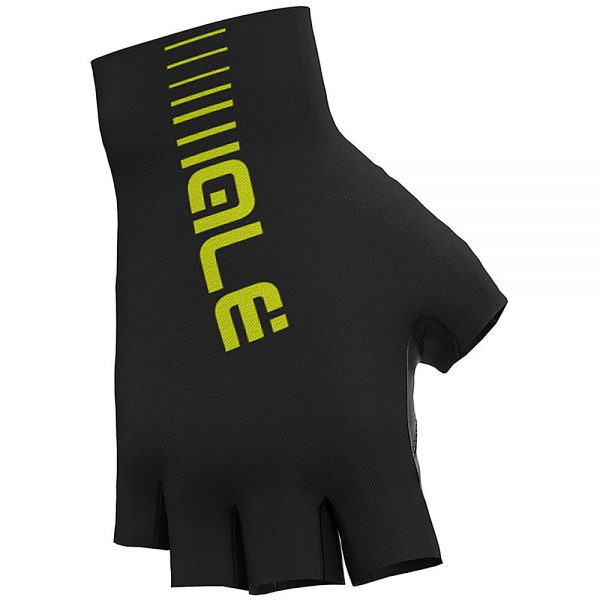 Alé Sunselect Crono Gloves - S - Black-Fluro Yellow, Black-Fluro Yellow