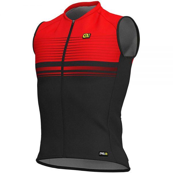Alé Graphics PRR SM Slide Sleeveless Jersey - S - BLACK-RED, BLACK-RED
