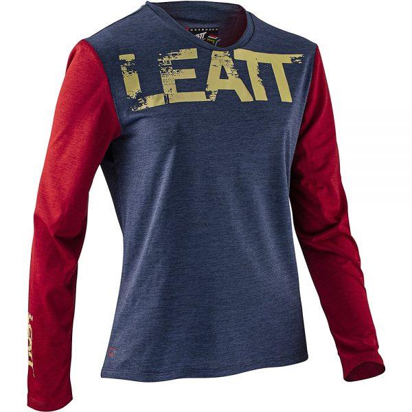 Leatt Women's MTB 2.0 Long Sleeve Jersey 2021 - M - Copper, Copper