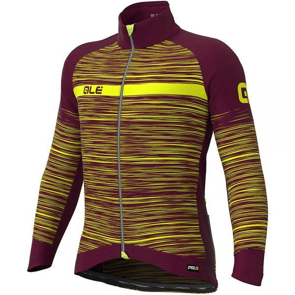 Alé The End Jacket - XS - Bordeaux Fluo Yellow, Bordeaux Fluo Yellow