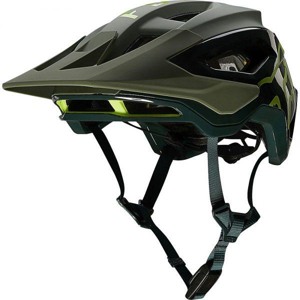 Fox Racing Speedframe Pro MTB Helmet (MIPS) - L - Pine, Pine