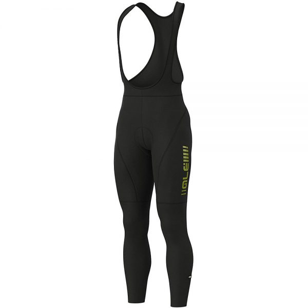 Alé Road Bibtights - XXXL - Black Fluo Yellow, Black Fluo Yellow