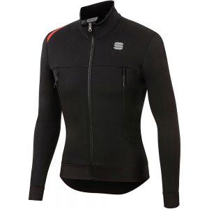 Sportful Fiandre Warm Jacket - XXXL - Black, Black