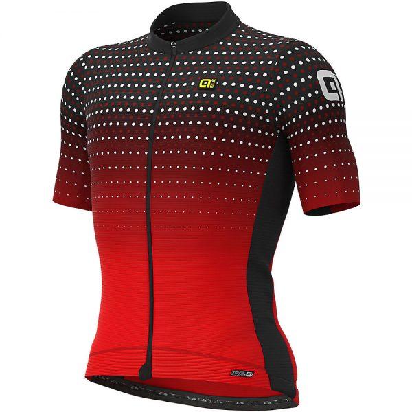 Alé PRS Bullet Jersey - L - BLACK-RED, BLACK-RED