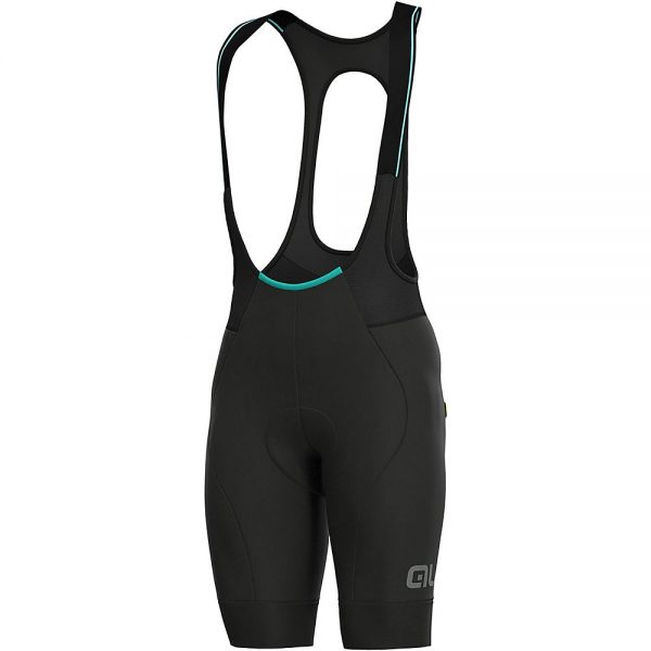Alé Klimatik Cold Bib Shorts - XL - Black, Black