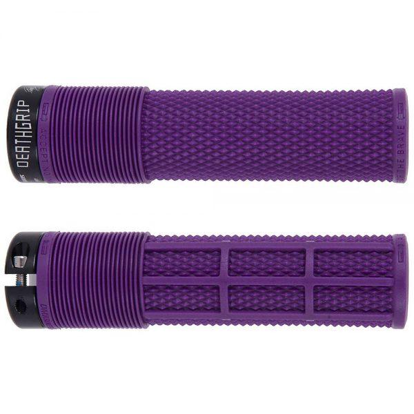 DMR Brendog Death Grip MTB Grips - 135mm - Purple, Purple
