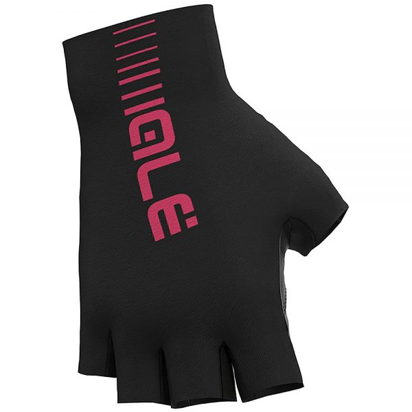 Alé Sunselect Crono Gloves - L - Black-Fluro Pink, Black-Fluro Pink