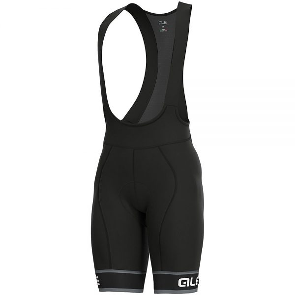 Alé Graphics PRR Sella Bib Shorts - S - Black-White, Black-White