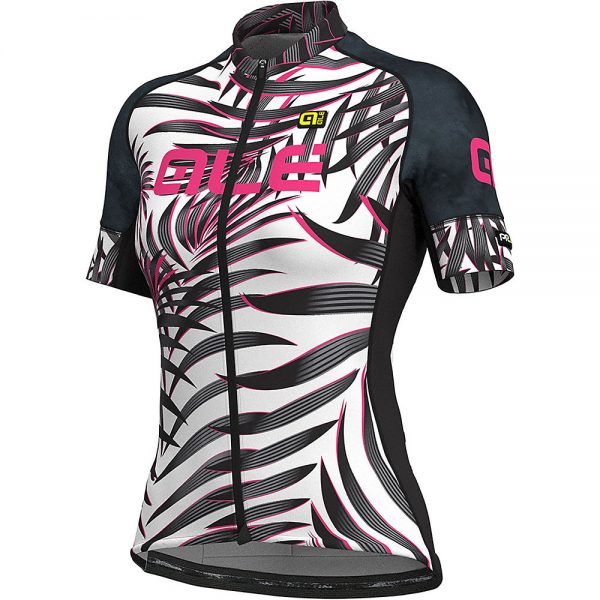 Alé Women's Graphics PRR MC Jersey - XL - White-Black, White-Black
