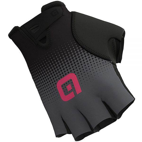 Alé Guanti Dots Gloves - XXL - Black-Grey-Fluro Pink, Black-Grey-Fluro Pink