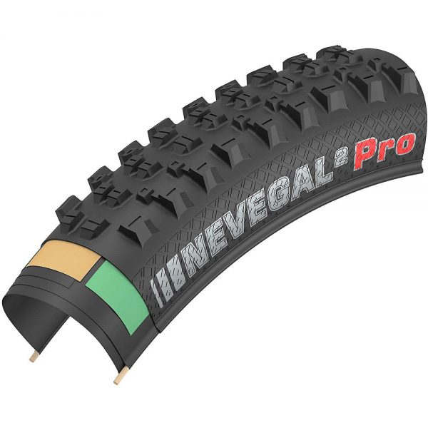 "Kenda Nevegal 2 MTB Folding Tyre - Black - 27.5"" (650b), Black"