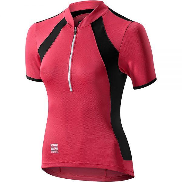 Altura Women's Spirit Short Sleeve Jersey 2019 - UK 12 - Vivid Pink-Black, Vivid Pink-Black