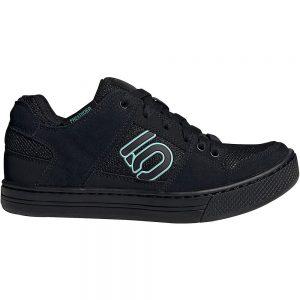 Five Ten Women's Freerider MTB Shoes 2021 - UK 4.5 - Black-Green, Black-Green