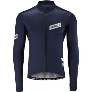 Morvelo Thermoactive Stealth LS Jersey - M - Navy, Navy