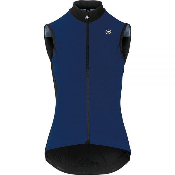 Assos Women's UMA GT Spring Fall Airblock Vest - S - caleum Blue, caleum Blue