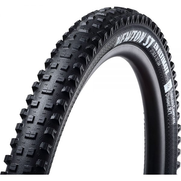 Goodyear Newton ST DH Ultimate Tubeless MTB Tyre - Folding Bead - Black, Black