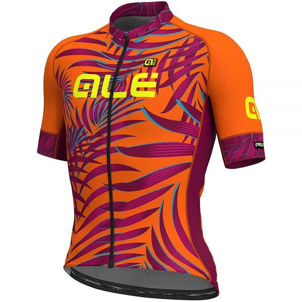 Alé Graphics PRR MC Sunset Jersey - XS - Fluro Orange-Red, Fluro Orange-Red