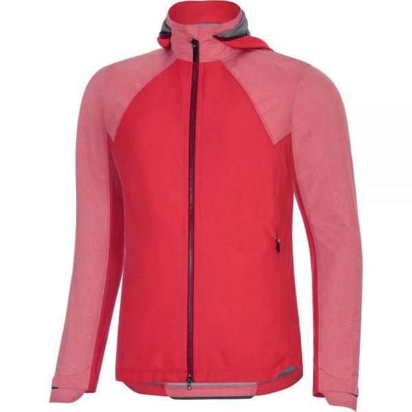 Gore Wear Women's C5 GTX I Hybrid Hd Jacket - M - Hibiscus Pink, Hibiscus Pink