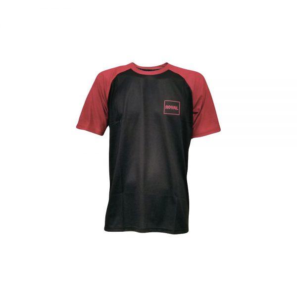 Royal Heritage Short Sleeve Jersey 2020 - M - Red-Black, Red-Black