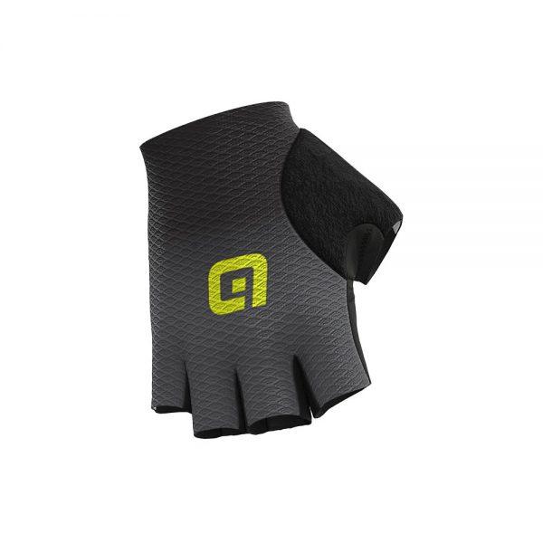 Alé Guant Mesh Gloves - M - Black-Charcoal Grey, Black-Charcoal Grey